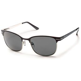 Black/grey Suncloud Womens Causeway Sunglasses With Polarized Lens 2014 Black Grey