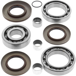 Quadboss Rear Differential Bearing And Seal Kit For Polaris 25-2080 Unpainted