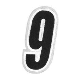 Black American Kargo 5 Inch Number #9 Nine Patch 2014