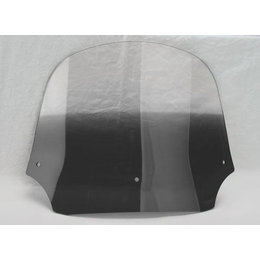 Memphis Shades Batwing Fairing Windshield Black 12 Inch