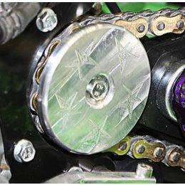 Blingstar Sprocket Guard Front Billet Alu For Yamaha Raptor 125/250 All Years