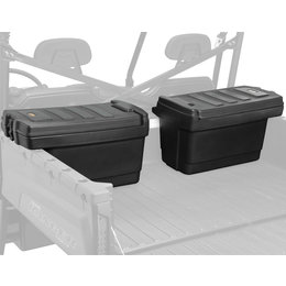 Quadboss Ranger Cargo Box Set For Polaris Ranger UTV Black 643400 Black