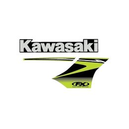 Factory Effex Replacement Tank Shroud Graphics For Kawasaki KX250F KX450F