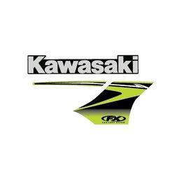 Factory Effex Replacement Tank Shroud Graphics For Kawasaki KX250F KX450F