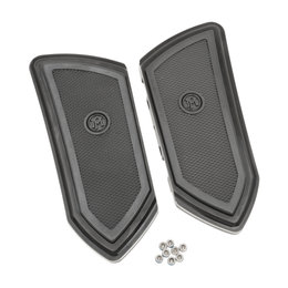 Performance Machine FTZ Passenger Floorboards For Harley Black 0036-1009-BM Black