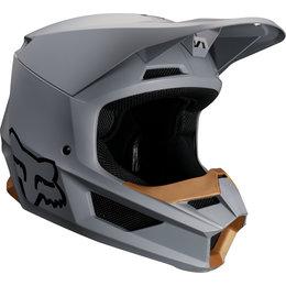 Fox Racing V1 Matte MVRS Helmet Grey