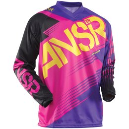 Pink, Purple Answer Womens Syncron Wmx Jersey 2015 Pink Purple
