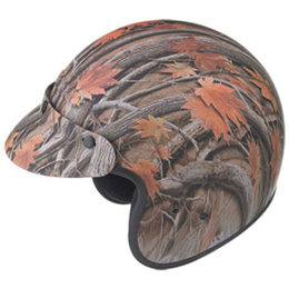 Leaf Camo Gmax Youth Gm2y Helmet