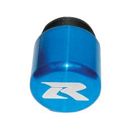 Street Bikes Unlimited Candy Frame Slider Tips Blue For Suzuki GSXR 600 750 1000