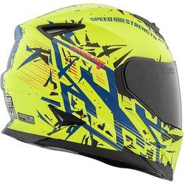 Speed & Strength SS1600 Critical Mass Full Face Motorcycle Helmet Blue