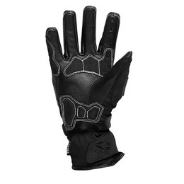 Black, White Evs Mens Blizzard Waterproof Textile Gloves 2013 Black White