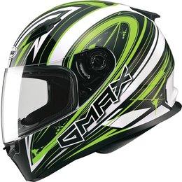 GMax FF49 Warp Full Face Helmet White