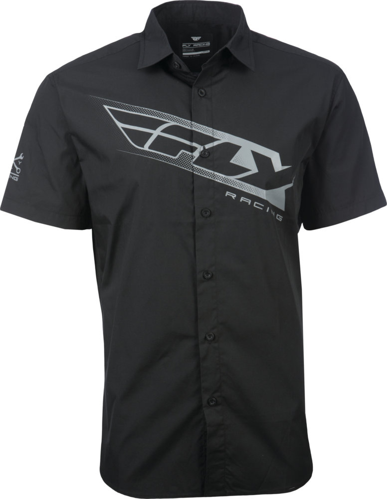 e698e124a $39.95 Fly Racing Mens Pit Button Up Shirt #997926