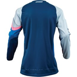 Thor Womens Pulse Depths Jersey Blue