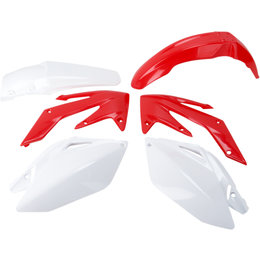 Acerbis Replacement Plastic Kit For Honda CRF250R 2006-2009 Red White 2041040438 Red