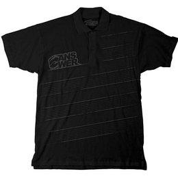 Black Answer Duffer Polo Shirt