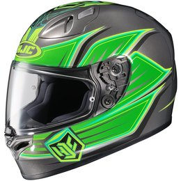Green Hjc Mens Fg-17 Banshee Full Face Helmet 2014