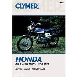 Clymer Repair Manual For Honda 250-350 Twin 64-74