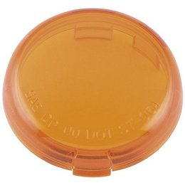 Amber Bikers Choice Bullet Turn Signal Replacement Lens