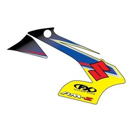 Factory Effex Replacement Tank Shroud Graphics For Suzuki RM-Z250 RM-Z450