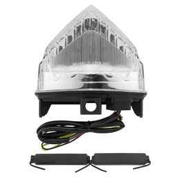 Bikemaster Integrated LED Tail Light Clear Lens For Honda CB1000R TZH-312-INT Transparent