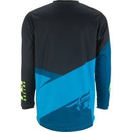 Fly Racing Mens F-16 F16 Jersey Blue