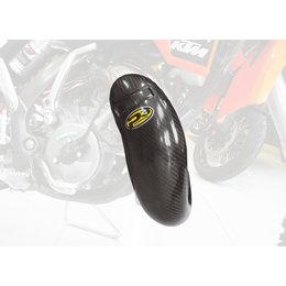 P3 2-Stroke Carbon Fiber Composite Pipe Guard For KTM 65 SX 65 XC Black 101020 Black