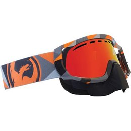 Flair Orange, Red Ionized Dragon Alliance Vendetta Snow Goggles Flair Red Ionized