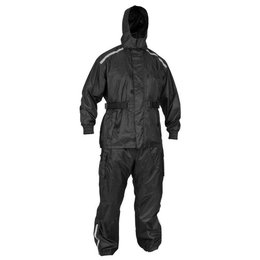 River Road Tempest 2 Piece Rainsuit Black