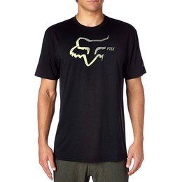 Fox Racing Mens Accelerated Tech T-Shirt Black