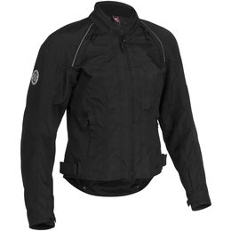 Black Firstgear Womens Contour Tex Jacket