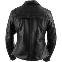 Black Brand Womens Enchantress Leather Jacket Black