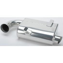 Skinz Super-Q Performance Exhaust Silencer Ski-Doo Snowmobiles Silver SQ-4412C Silver