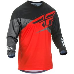 Fly Racing Mens F-16 F16 Jersey Red