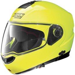 Fluorescent Yellow Nolan N104evo N-104 Evo Hi-visibility Modular Helmet