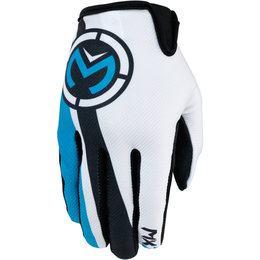 Moose Racing Mens MX2 Textile Gloves Blue