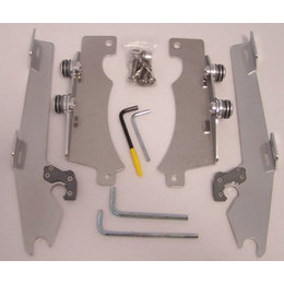 Memphis Shades Batwing Mount Kit Aluminum For Yamaha V-Star 1300