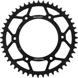 Supersprox Steel Rear Sprocket 48T Honda CR CRF XR Black RFE-210-48-BLK Black