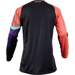 Thor Womens Pulse Depths Jersey Black