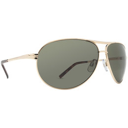 Gold/grey Dot Dash Metal Shop Collection Buford T Sunglasses Gold Grey