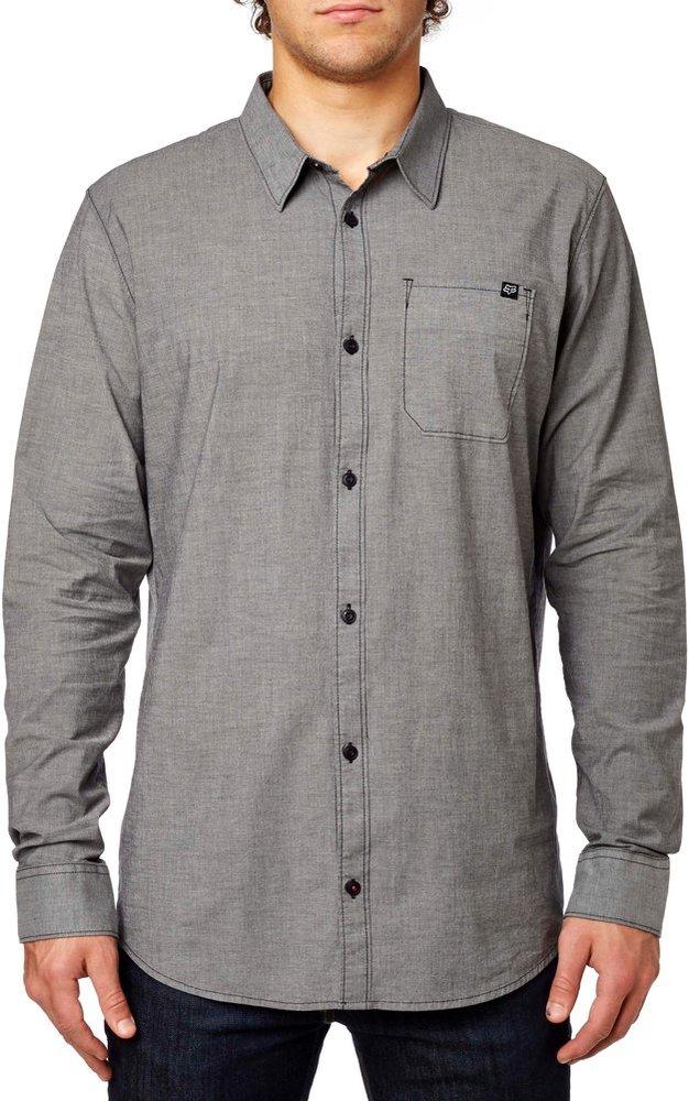 $36.49 Fox Racing Mens Drips Long Sleeve Button Up Shirt #993264