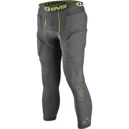 EVS Mens Tug Impact Padded Protective 3/4 Pants Black
