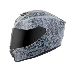 Scorpion EXO-R420 EXOR 420 Shake Full Face Helmet Grey