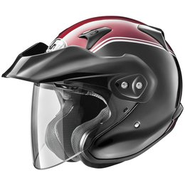Arai XC-W XCW Gold Wing Open Face Helmet Red