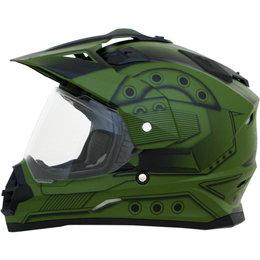 AFX FX39 Hero Full Face Dual Sport Helmet Green