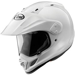 White Arai Xd4 Xd-4 Dual Sport Helmet