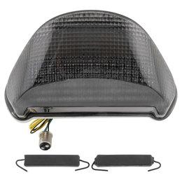 Bikemaster Integrated LED Tail Light Smoke Lens For Kawasaki TZK-058-INT-S Grey