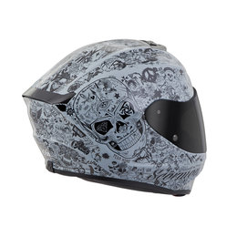 Scorpion EXO-R420 EXOR 420 Shake Full Face Helmet Grey