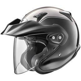 Arai XC-W XCW Gold Wing Open Face Helmet Silver