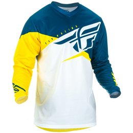 Fly Racing Mens F-16 F16 Jersey Yellow